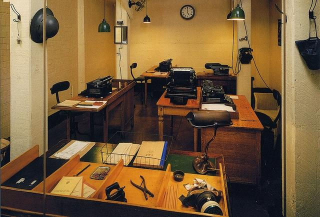 Visita el churchill war rooms paperblog - Churchill war cabinet rooms ...