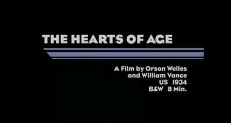The Hearts of Age - Primera película de Orson Welles