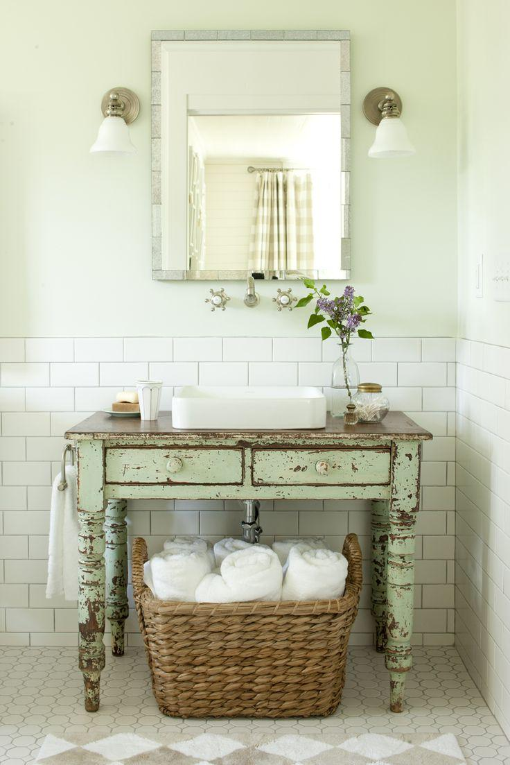 Muebles De Baño Antiguos:Restaurando muebles para el baño – Paperblog