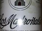 Madroñales vino moscatel Chipiona