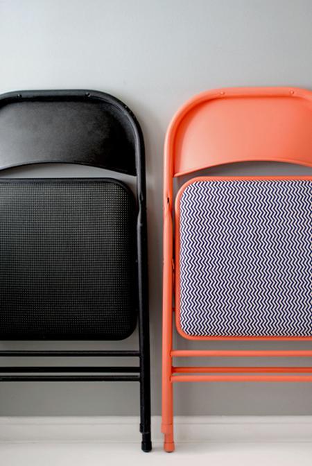 Personaliza tus sillas plegables estandar diy diy tapizar sillas metal diy sillas plegables negras diy decoración sillas diy decoración interiores como transformar sillas metal bricolaje sillas decoración blog diy sillas blog decoración nórdica
