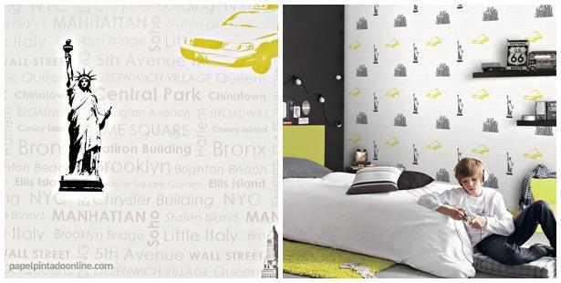 Papel pintado paperblog - Papel pintado nueva york ...