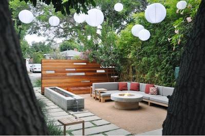 Patios modernos y minimalistas paperblog for Decoracion de patios modernos