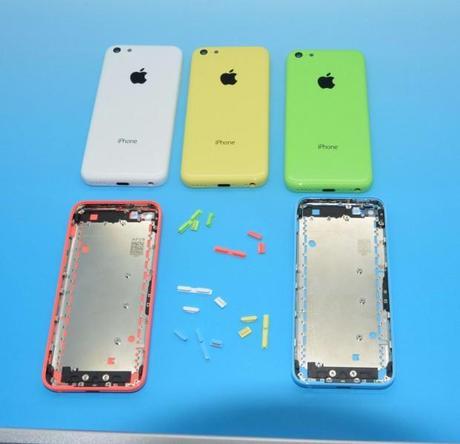 iPhone 5S y iPhone 5C aparecen juntos en nuevas imágenes filtradas