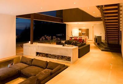 Casa minimalista en colombia paperblog for Iluminacion minimalista interiores