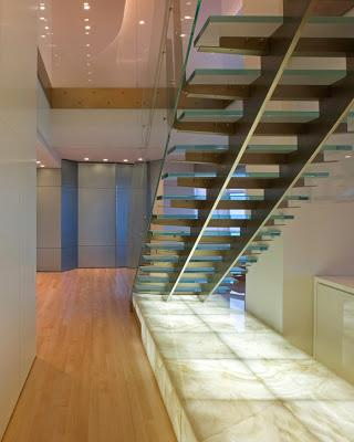 Propuestas de escaleras modernas paperblog - Escaleras casas modernas ...