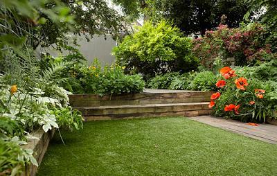 jardines rusticos e informales