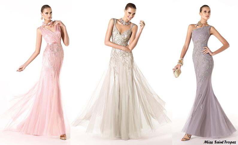 Vestidos de fiesta 2015 tendencias