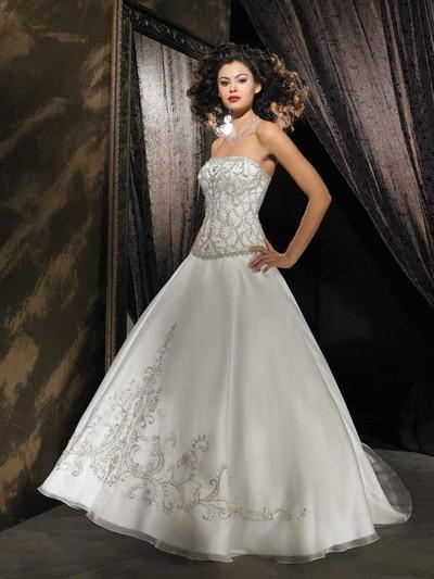 los más lindos vestidos largos para novias - paperblog