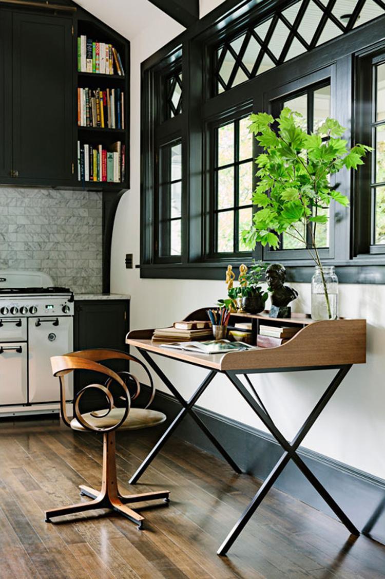espacios: cocina + biblioteca - Paperblog