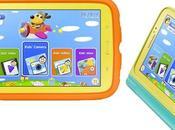 Samsung anuncia tableta para niños Galaxy Kids