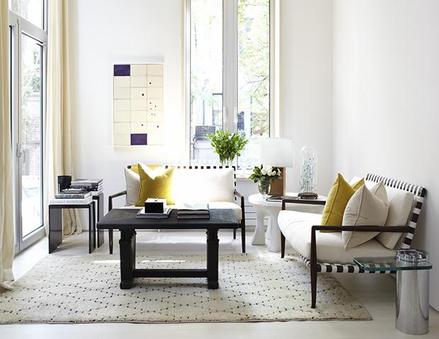 Estilo contempor neo en blanco negro y amarillo paperblog for Estilo contemporaneo moda
