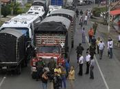 Inicia paro sectores economía colombiana