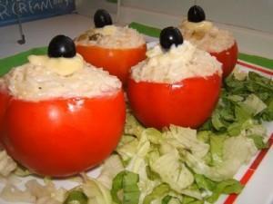 Tomates rellenos fríos- Marimar González