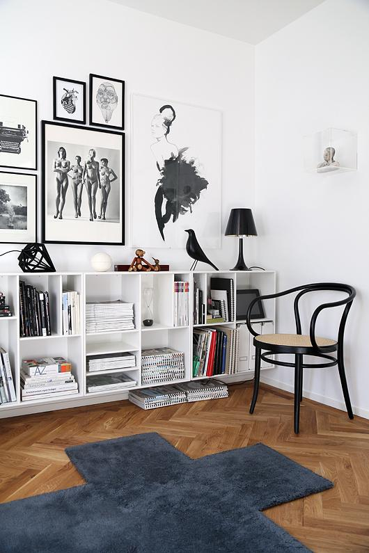 hoy me gusta eames house bird paperblog. Black Bedroom Furniture Sets. Home Design Ideas