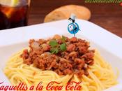 Espaguetis Coca Cola