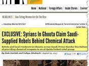 Mercenarios Siria admiten responsabilidad ataque armas químicas