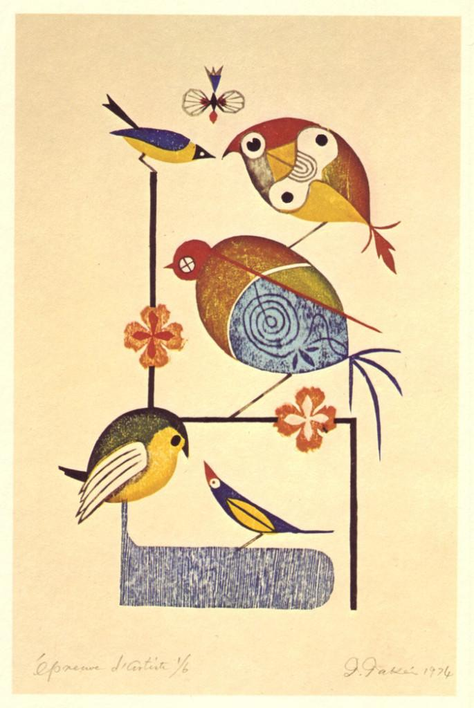 Birds-frolic-in-this-stunning-illustration-by-Japanese-master-artist-Takeo-Takei