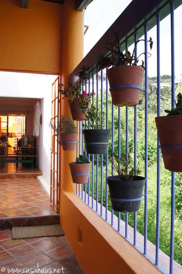 Incre ble casa de estilo mexicano en chapala parte 2 - Decoracion de pasillos rusticos ...