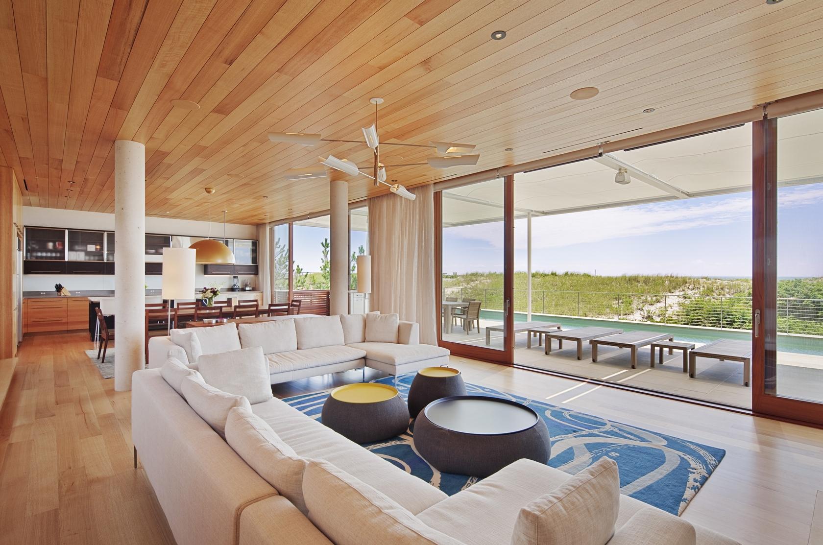 Moderna Beach House En Los Hamptons New York Paperblog