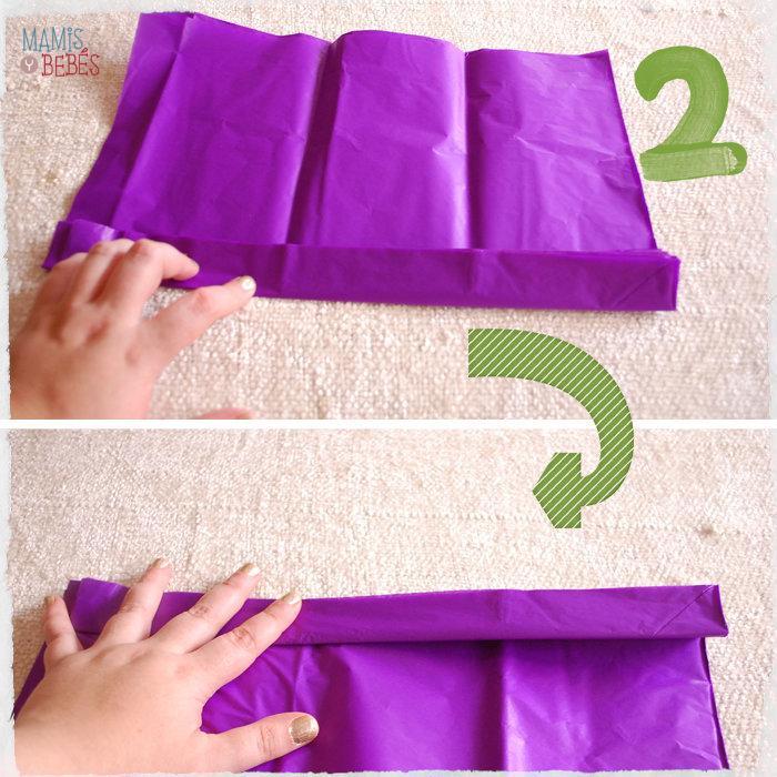 DIY pompones 03 DIY pompones de papel de seda