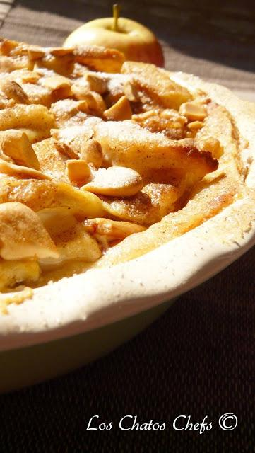 Nordic apple tart
