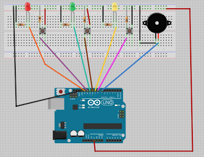 Arduino TUTORIAL parte 13: Juego Simon Says
