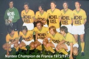 Nantes campeón 1973