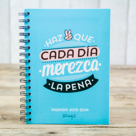 Agenda Mr.Wonderful ♥
