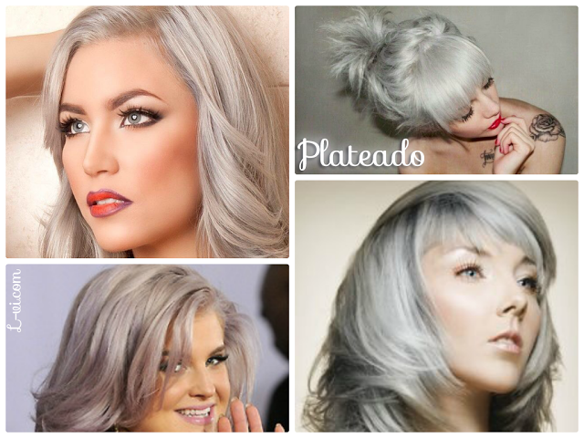 Silver & pastels: Hair Inspiration
