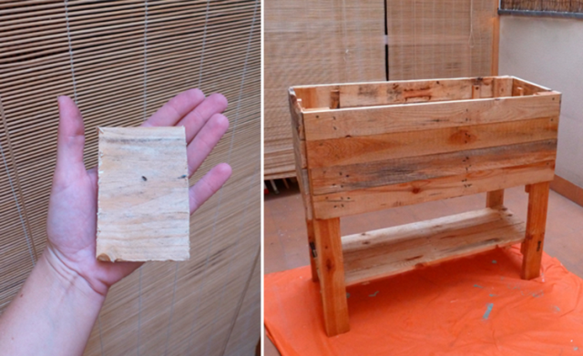 Diy c mo hacer un huerto urbano con palets paperblog - Como hacer un huerto urbano ...