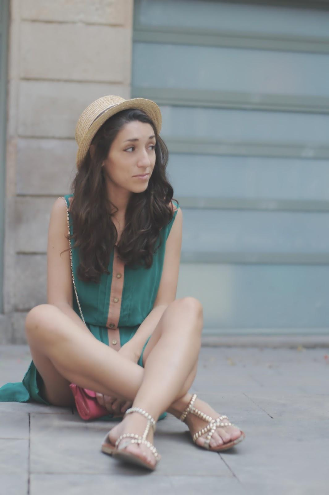 Look del Día: Green Dress
