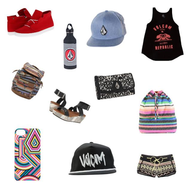 VOLCOM LOOKBOOK + COLLAGE,INSPIRATION