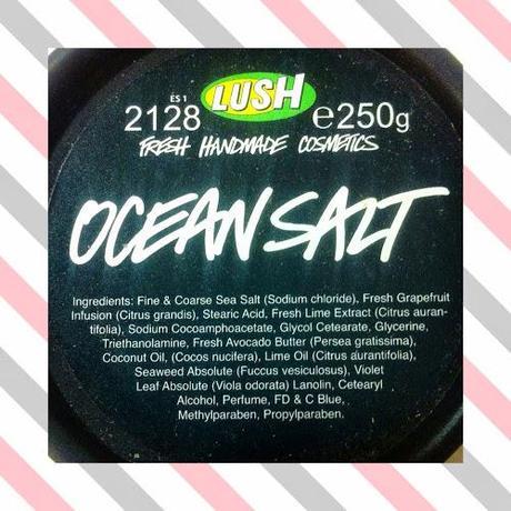 Exfoliante Ocean Salt de Lush
