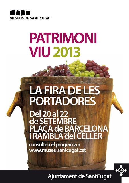 FIRA DE LES PORTADORES, Del 20 Al 22 De Septiembre ( Plaça Barcelona   Sant