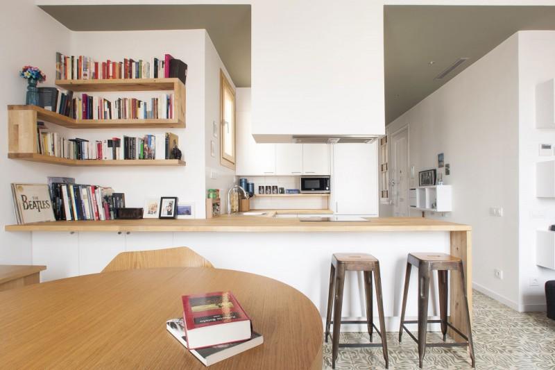 una cocina abierta al sal n paperblog