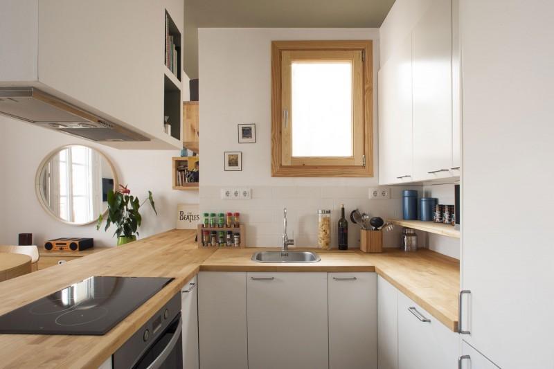 Una cocina abierta al sal n paperblog for Diseno de cocina abierta