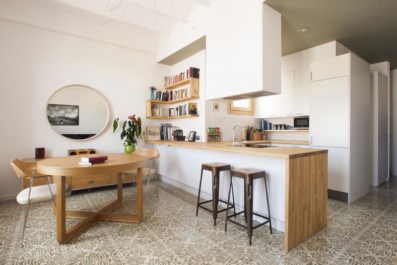 Una cocina abierta al sal n paperblog for Cocinas abiertas al comedor