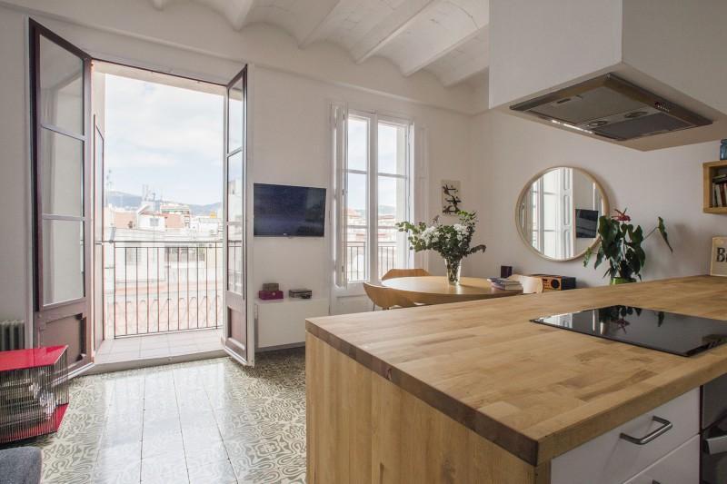 Una cocina abierta al sal n paperblog for Cocinas con isla y salon