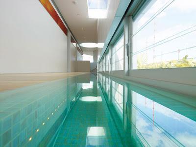 piscinas internas modernas paperblog