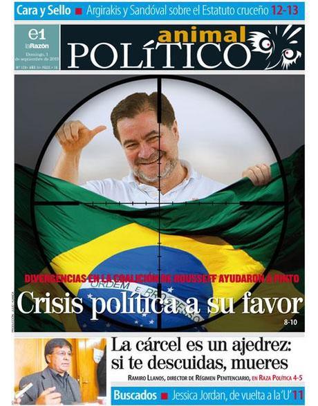ASILO POLÍTICO: El Senador Pinto y la crisis política en el gobierno brasileño