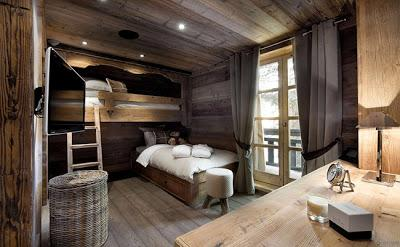 Chalet Rustico en Courchevel