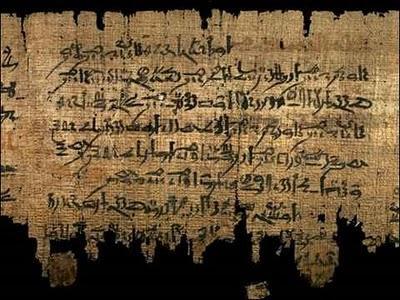 Los papiros más antiguos del mundo