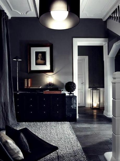 espacios: black&white; decolooks