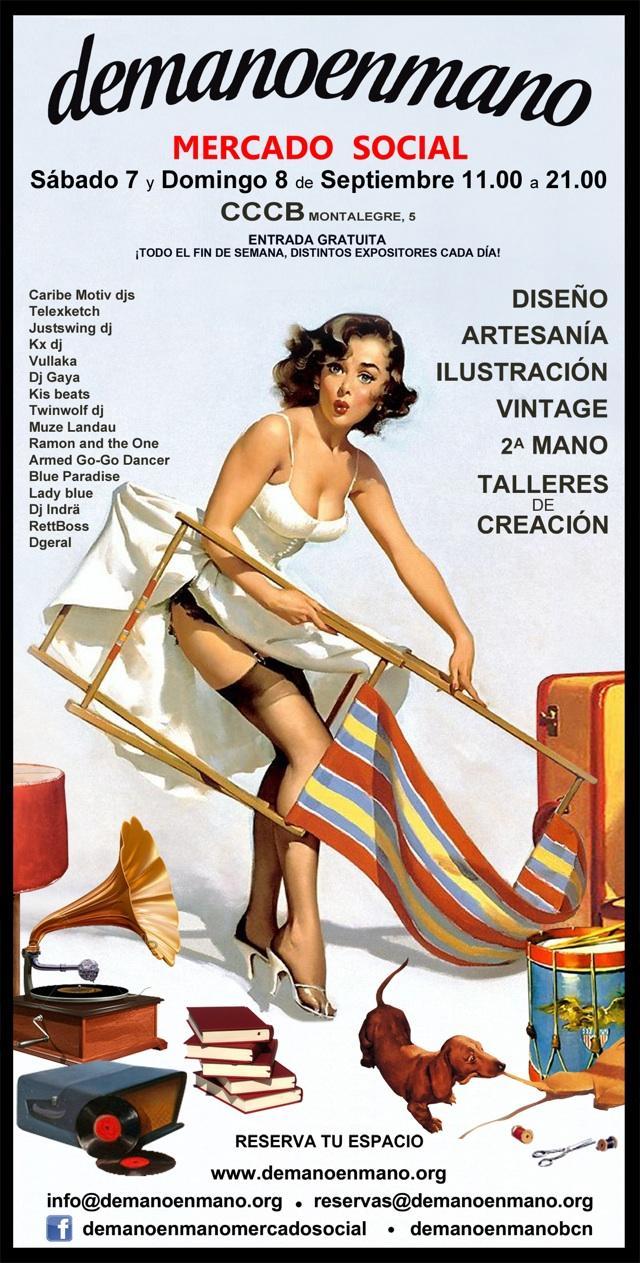Los mercadillos de moda objetos y ropa vintage en - Mercadillo de segunda mano barcelona ...