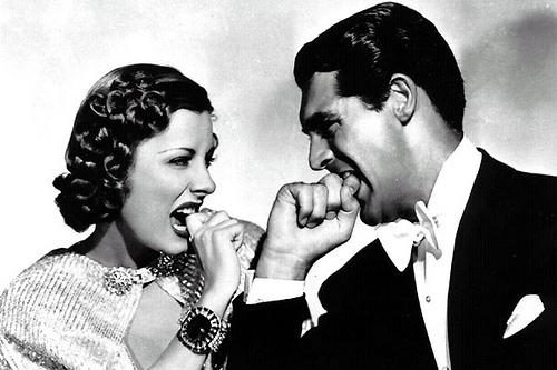 Irene Dunne y Cary Grant