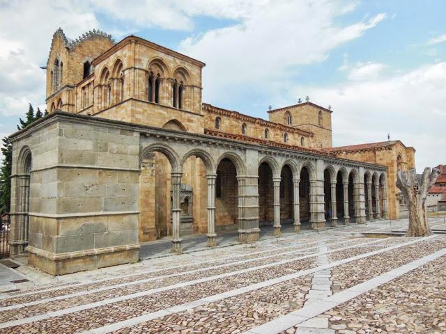 La Basilica de San Vicente en Avila - Paperblog
