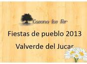 Fiestas pueblo 2013