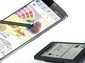luce Alcatel Touch Hero, móvil pantalla tinta electrónica