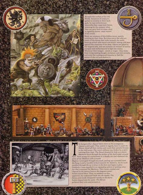 Anuncio de Advanced Heroquest 1ª edición(1989)